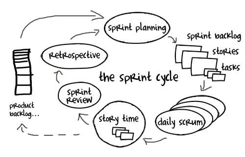 Sprint Cycle Scrum The Sprint Cycle